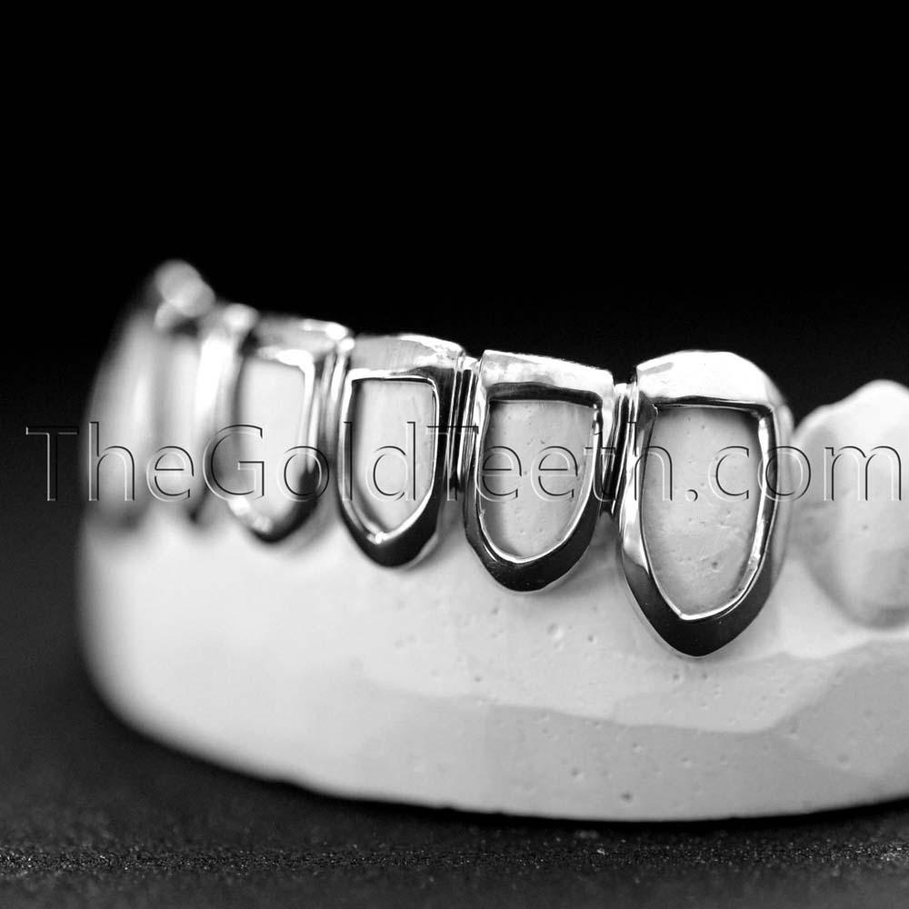 Silver Bottom Grillz - SB 509 - TheGoldTeeth.com 2c560daa0a00